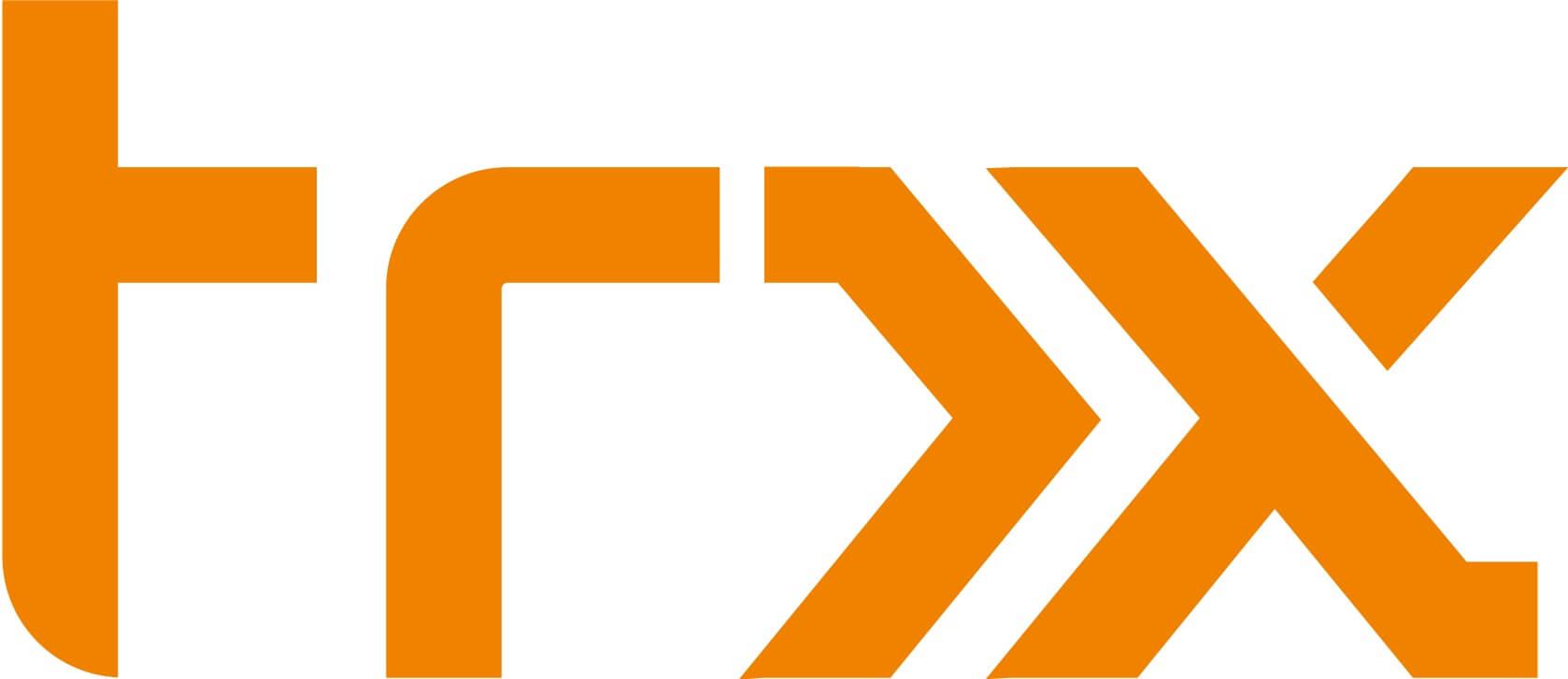 TRX logo oranje
